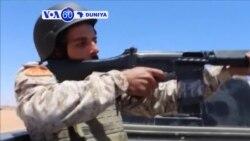 VOA60 DUNIYA: LIBYA Amurka da Kawayenta Suna Kokarin Ganin an Cire Takunkunmin Makamai Ma Kasar Libya