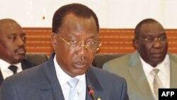 Le président tchadien Idriss Deby