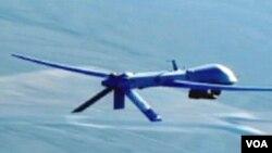 Pesawat tak berawak (drone) yang diduga milik Amerika menewaskan sedikitnya satu militan di Waziristan Utara, Minggu (10/3).