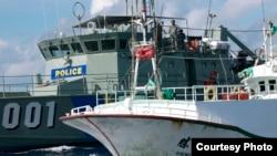 台湾渔警船