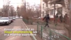 5 Arrested in Raid on Illicit Amphetamine Lab Hidden in Moscow Apartment
