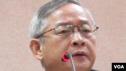 国民党立委 林郁方(美国之音 张永泰拍摄)