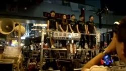 2014-11-04 美國之音視頻新聞: 學聯週末派赴京對話
