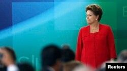 La presidenta de Brasil, Dilma Rousseff, es la segunda mujer más poderosa del planeta.