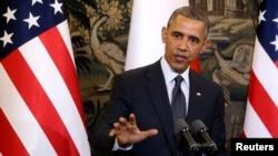 Một phần lý do Tổng thống Obama đến Ba Lan là để tham gia kỷ niệm 25 năm chiến thắng của phong trào Ðoàn kết của lãnh tụ công đoàn Walesa báo hiệu sự kết thúc của 4 thập niên chế độ Cộng sản