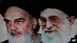 Ajatola Homeini i Ajatola ali Hamenei, lideri iranske revolucije