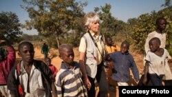 Rotary polio vaccination day in Kaduna, Nigeria (Ruth McDowall)