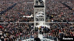 AQShda prezident Obama ikkinchi muddat uchun qasamyod keltirdi