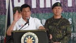 Marawi တုိက္ပြဲ အဆုံးသတ္ဖုိ႔ ဖိလစ္ပုိင္သမၼတ ေမ ွ်ာ္လင့္