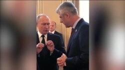 Takim Thaçi-Putin në Paris