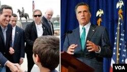 Etazini: Mitt Romney Espere Laji avans li nan Eleksyon Primè Illinois la
