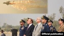 Thủ tướng Muhammad Nawaz Sharif tại cuộc tập trận ở Sargodha hôm 9/11/2016.