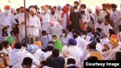 Punjab Farmers strike in India