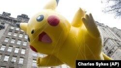 Karakter Pikachu kembali populer setelah Pokemon Go tampil di ponsel pintar (foto: ilustrasi).