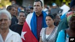 En images : cérémonie d'hommage à Cuba après la mort de Fidel Castro