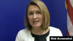 全美堕胎权行动联盟的官员塔里娜•基内(视频截图)