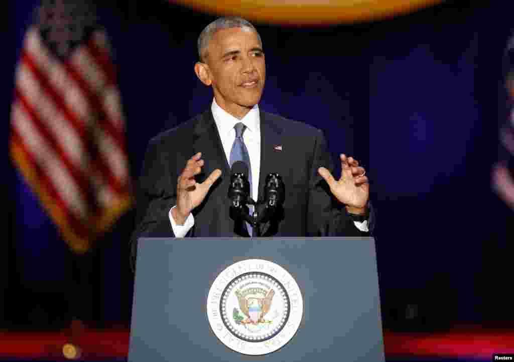 صدر اوباما نے کہا کہ 2008 میں جب انہوں نے عہدہ سنبھالا تھا اس کے مقابلے میں آج امریکہ ایک بہتر اور مضبوط ملک ہے۔