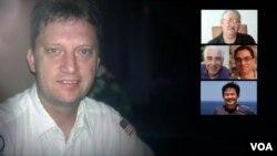 غیر از باب لوینسون که شرایط او معلوم نیست، بقیه آمریکایی های زندانی در ایران به ده سال محکوم شده اند.