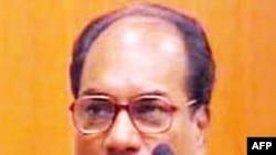 Bộ trưởng quốc phòng Ấn Độ A.K. Antony