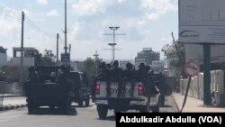 Somali troops in Mogadishu