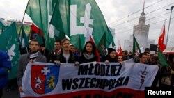 Демонстрация националистов в День Независимости Польши (архивное фото)