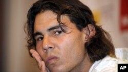 Rafael Nadal mundur dari turnamen Grand Slam Amerika Terbuka akibat cedera (foto: Dok.).