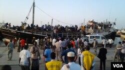 Somali Refugees from Yemen