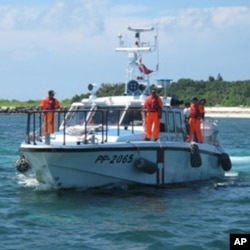 台湾海巡署巡逻船