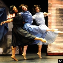 The Nashville Ballet conducts about 150 traveling performances - such as Anne Frank (pictured here) - for students across Tennessee each year.