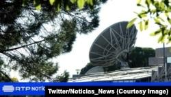 Une antenne de la RDP, Guinée-Bissau, 5 novembre 2017. (Twitter/Noticias_News)