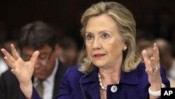 ລັດຖະມົນຕີກະຊວງການຕ່າງປະເທດສະຫະລັດ ທ່ານນາງ Hillary Clinton