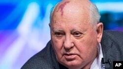 Former Soviet President Mikhail Gorbachev, March 30, 2013.