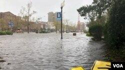 """Північна Кароліна. Зона урагану """"Флоренс"""""""