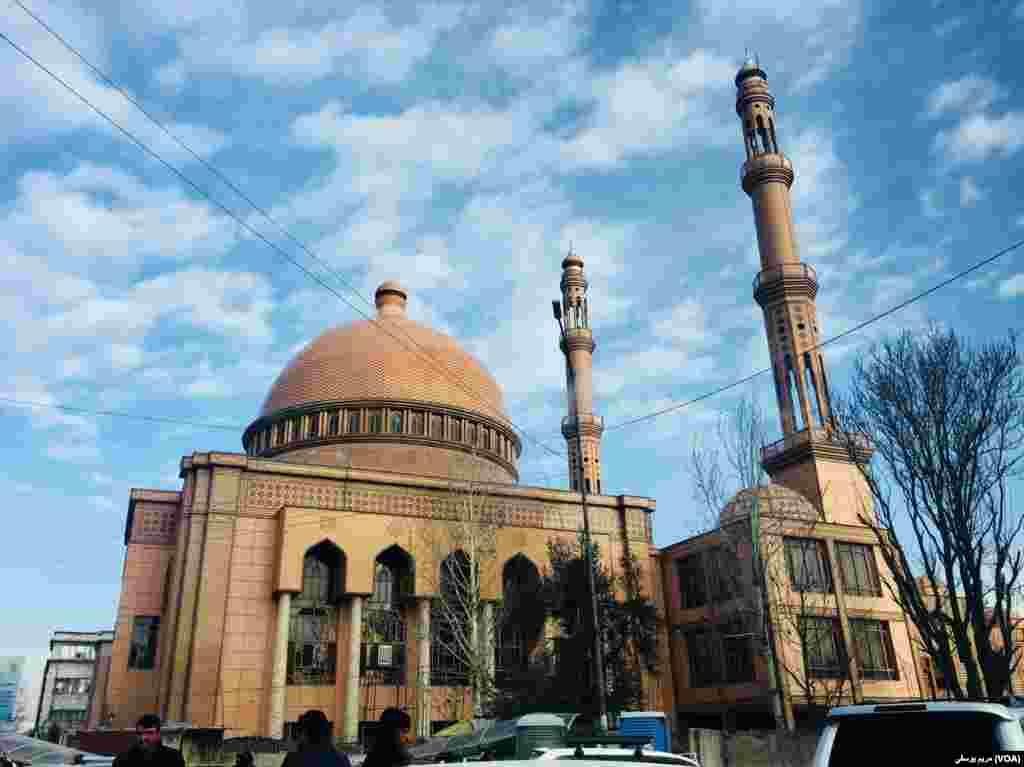 مسجد عبدالرحمان در شهر کابل