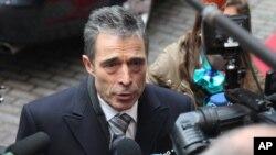 Андерс Фог Расмуссен. Брюссель. 19 ноября 2012 г.