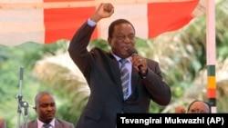 Zimbabwe Vice President Emmerson Mnangagwa.