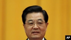 Hu Jintao, president of China