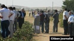 Kurdi iz Turske na granici kod Kobanija