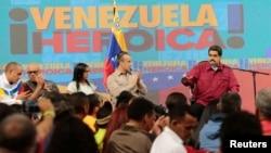 """Maduro también rechazó las declaraciones del presidente de la empresa Smartmatic, Antonio Mugica, quien aseguró que hubo """"manipulación"""" de los resultados de la elección de la Constituyente."""
