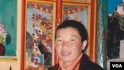 Biarawati Palden Chetso (foto: dok) yang tewas setelah membakar dirinya sebagai aksi protes terhadap pemerintah Tiongkok, Kamis (3/11).