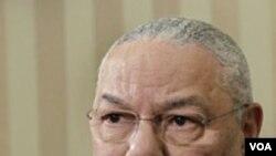 Mantan Menteri Luar Negeri AS yang menjabat pada masa kepresidenan George W. Bush yang pertama, Colin Powell.