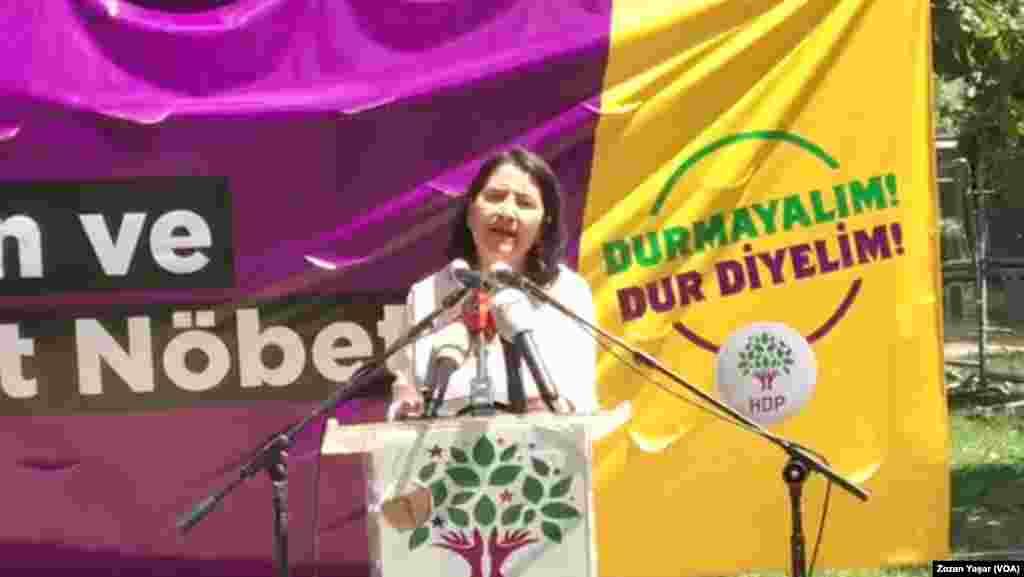 Nobeta Wijdan Û Edaletê ya HDPê li Stenbol