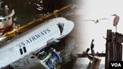 US Airways aterrizaje forzoso en Nueva York