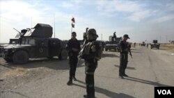 2016年11月7日伊拉克北方城市摩蘇爾附近聯軍。