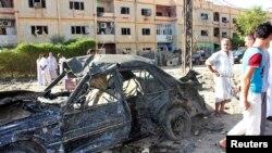 Vụ tấn công bằng xe cài bom ở Baquba, cách thủ đô Baghdad 50 km về hướng đông bắc 26/8/13