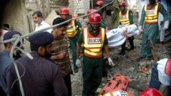 در انفجار صومعه صوفيان در پاکستان ۵ نفر کشته شدند