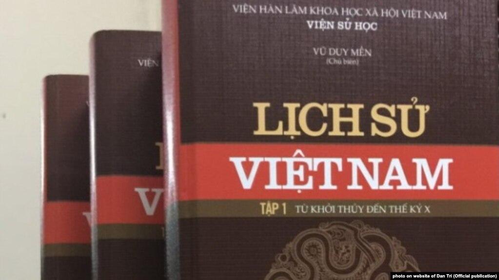 Bộ sách sử mới của Việt Nam, do Viện Hàn lâm Khoa học Xã hội Việt Nam biên soạn, 8/2017