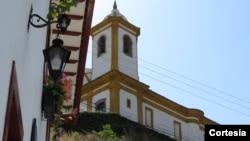 Igreja das Mercês em Ouro Preto, Minas Gerais, Brasil.