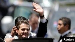 L'ex-président Enrique Pena Nieto à Buenos Aires, en Argentine, le 30 novembre 2018. (REUTERS/Luisa Gonzalez)