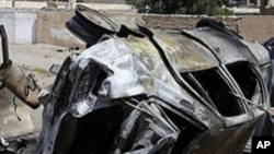 عراق: بم دھماکوں میں پانچ افراد ہلاک
